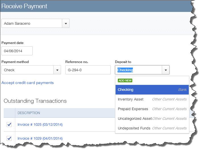 Receiving Payments in QuickBooks Online   Abundance in